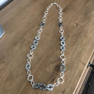 New with Defects - PD City Scape Silvet Necklace